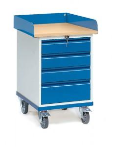 Servante d'atelier à tiroirs Charge 150 Kg - Devis sur Techni-Contact.com - 1