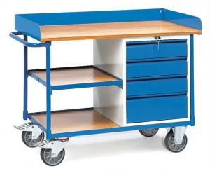 Servante d'atelier métallique à 4 tiroirs - Devis sur Techni-Contact.com - 1