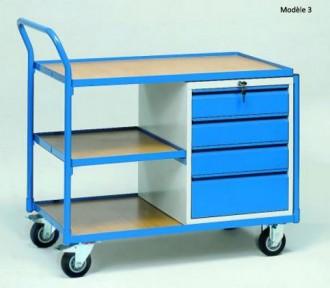 Servante d'atelier pour usage en continu Charge 250 à 400 kg - Devis sur Techni-Contact.com - 3