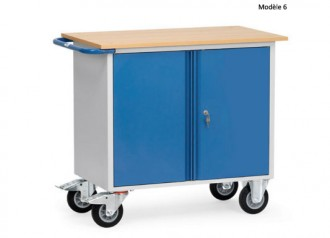 Servante d'atelier pour usage en continu Charge 250 à 400 kg - Devis sur Techni-Contact.com - 6