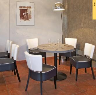 Chaise bois pour restaurant MOZART - Devis sur Techni-Contact.com - 2