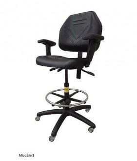 Siège ergonomique pour atelier - Devis sur Techni-Contact.com - 1