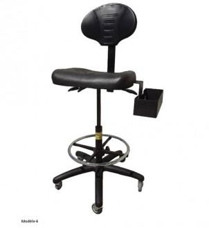 Siège ergonomique pour atelier - Devis sur Techni-Contact.com - 4