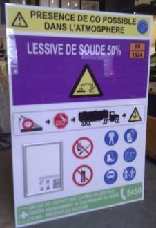 Signalétique de sécurité en PVC - Devis sur Techni-Contact.com - 1