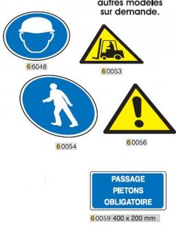 Signalisation au sol pour zone de stockage - Devis sur Techni-Contact.com - 2