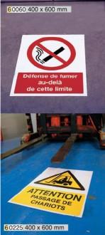 Signalisation au sol pour zone de stockage - Devis sur Techni-Contact.com - 3