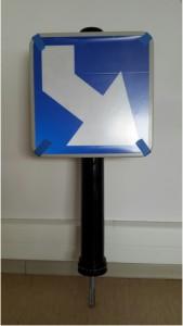 Mât plastique flexible de signalisation - Devis sur Techni-Contact.com - 1