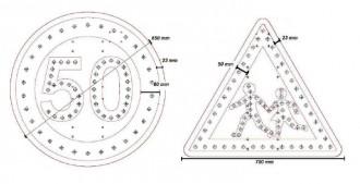 Signalisation routière lumineuse à LED - Devis sur Techni-Contact.com - 2
