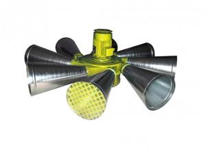 Sirène à turbine omnidirectionnelle 134 dB  - Devis sur Techni-Contact.com - 1