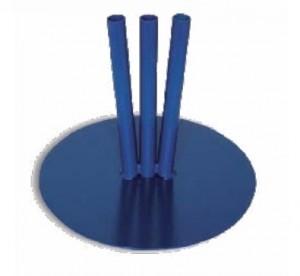 Socle bleu pour drapeaux - Devis sur Techni-Contact.com - 1