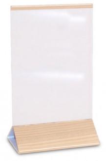 Socle plexi pour menu de table - Devis sur Techni-Contact.com - 2