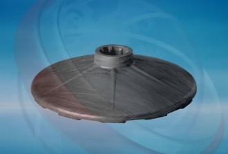 Socle pour poteau à chaîne - Devis sur Techni-Contact.com - 1