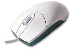 Souris optique blanche 2 boutons - Devis sur Techni-Contact.com - 1