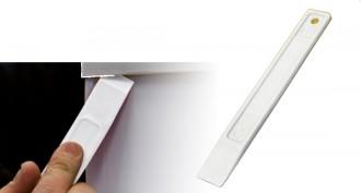Spatule plastique blanc - Devis sur Techni-Contact.com - 1