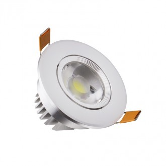 Spot COB LED encastrable orientable - Devis sur Techni-Contact.com - 1
