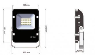 Spot LED 12W - Devis sur Techni-Contact.com - 1