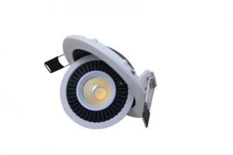 Spot led 7 watts cob encastrable orientable 90° - Devis sur Techni-Contact.com - 2
