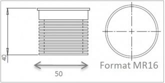 Spot LED encastrable et orientable - Devis sur Techni-Contact.com - 2