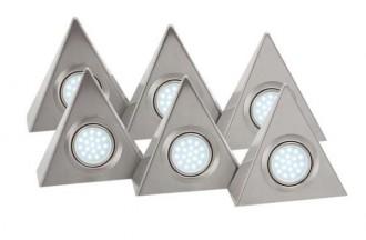 Spots triangulaires LED - Devis sur Techni-Contact.com - 1