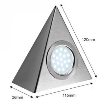Spots triangulaires LED - Devis sur Techni-Contact.com - 2