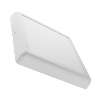 Square Ceiling Lamp Blanc ou Alu 6W - Devis sur Techni-Contact.com - 1