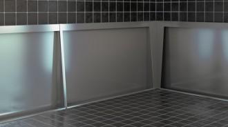 Stalle d'urinoir inox - Devis sur Techni-Contact.com - 1