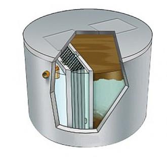Station d'épuration eaux usées à 2 cuves - Devis sur Techni-Contact.com - 1