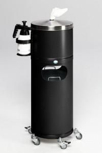 Station de désinfection mobile avec dévidoir papier - Devis sur Techni-Contact.com - 2