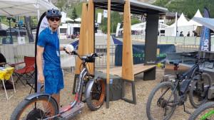 Station de recharge solaire pour vélo électrique ou téléphone - Devis sur Techni-Contact.com - 3