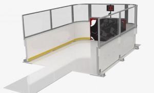 Station de tir de hockey Slapshot - Devis sur Techni-Contact.com - 1