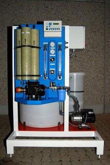 Station de traitement des eaux compacte sur châssis acier - Devis sur Techni-Contact.com - 1