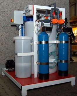 Station de traitement des eaux compacte sur châssis acier - Devis sur Techni-Contact.com - 2