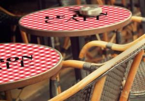 Sticker personnalisable pour table restaurant - Devis sur Techni-Contact.com - 1