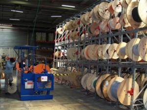 Stockage de tourets et de câble   - Devis sur Techni-Contact.com - 2