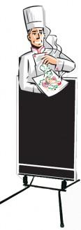 Stop trottoir pour restaurant - Devis sur Techni-Contact.com - 1