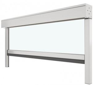 Store vertical ZIP en toile ou cristal transparent - Devis sur Techni-Contact.com - 3