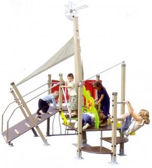 Structure de jeux extérieur pour 10 enfants - Devis sur Techni-Contact.com - 1