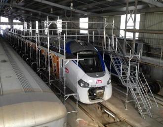 Structure échafaudage maintenance train - Devis sur Techni-Contact.com - 1