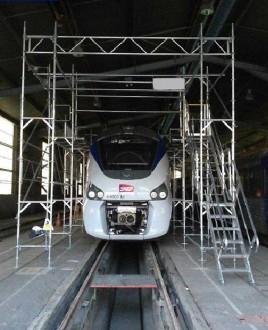 Structure échafaudage maintenance train - Devis sur Techni-Contact.com - 2