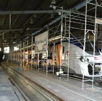 Structure échafaudage maintenance train - Devis sur Techni-Contact.com - 3