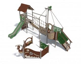 Structure jeux enfant extérieur - Devis sur Techni-Contact.com - 2
