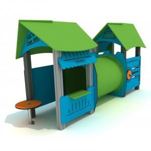 Structure ludique avec toitures - Devis sur Techni-Contact.com - 1