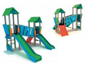 Structure ludique enfants - Devis sur Techni-Contact.com - 2