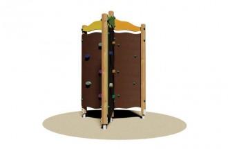 Structure multi-jeux à escalader - Devis sur Techni-Contact.com - 1