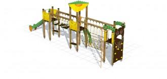 Structure multi jeux d'extérieur enfants - Devis sur Techni-Contact.com - 2