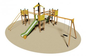Structure multi-jeux enfants - Devis sur Techni-Contact.com - 1
