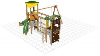 Structure multi-jeux plein air - Devis sur Techni-Contact.com - 2