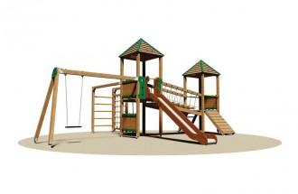 Structure multi-jeux pour enfants - Devis sur Techni-Contact.com - 1