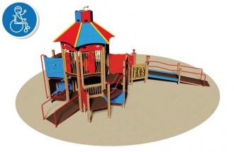 Structure multi-jeux pour enfants PMR - Devis sur Techni-Contact.com - 1