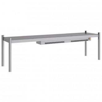 Support avec lumière pour table inox - Devis sur Techni-Contact.com - 2